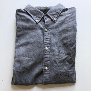 Uniqlo Cotton Flannel, Medium Gray
